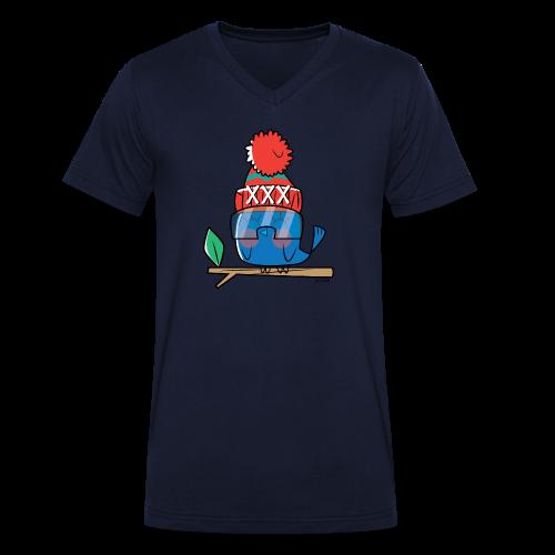 Birdy - Mannen bio T-shirt met V-hals van Stanley & Stella