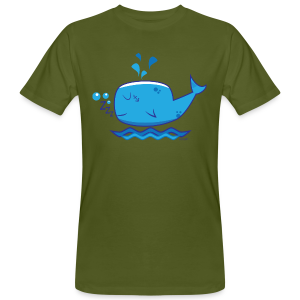 Little Whale - Mannen Bio-T-shirt