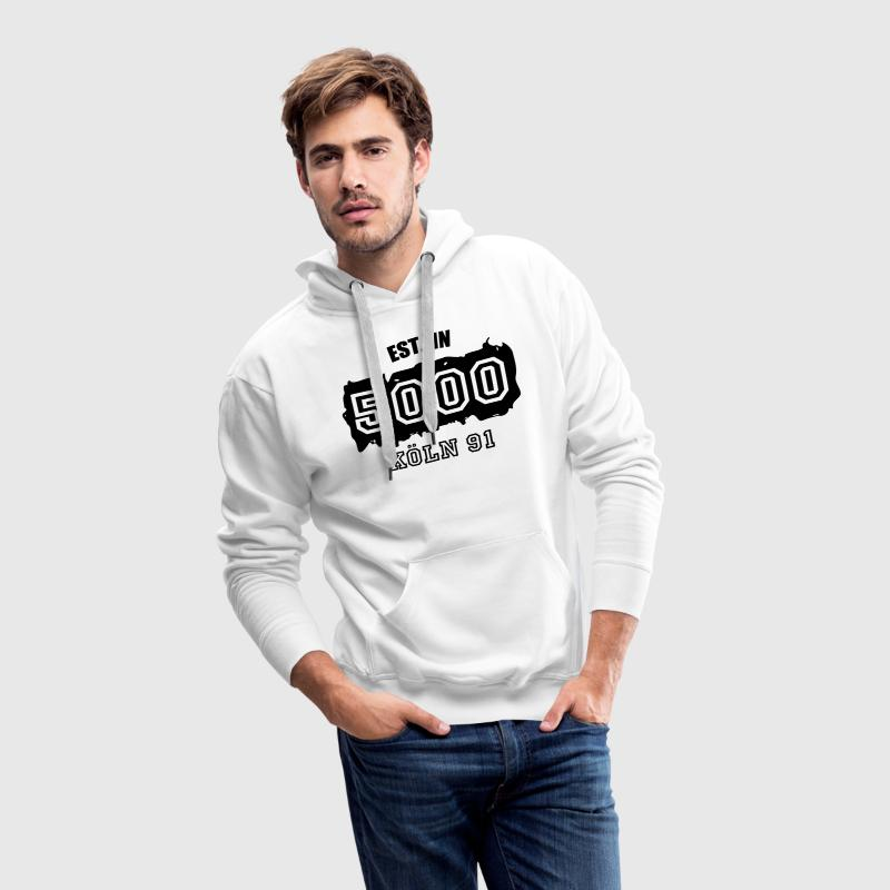 Established 5000 Köln 91 Pullover & Hoodies - Männer Premium Hoodie