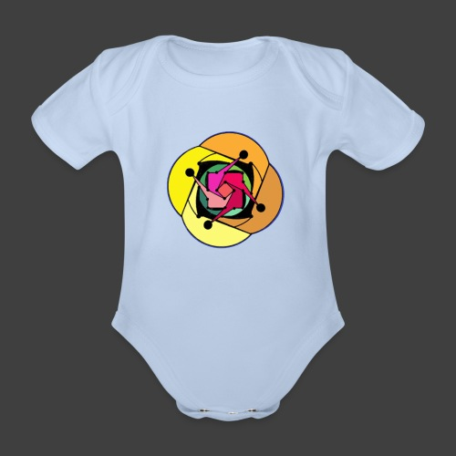 Simple Brainwashing - Organic Short-sleeved Baby Bodysuit