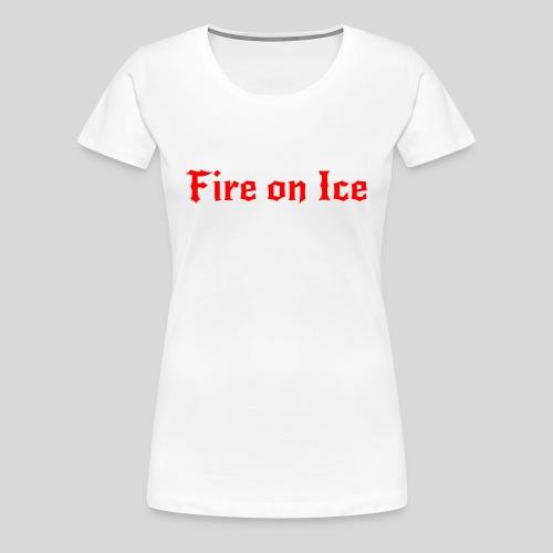Spenden-Shirt weiß Damen - Frauen Premium T-Shirt