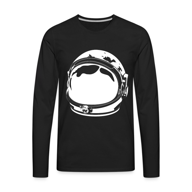 The White Cosmonaut (Men's premium long sleeve)