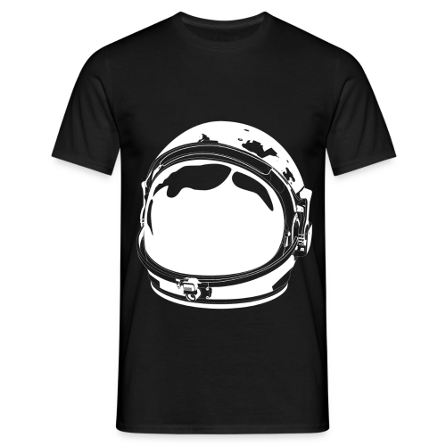 The White Cosmonaut (Men's short sleeve) - Men's T-Shirt