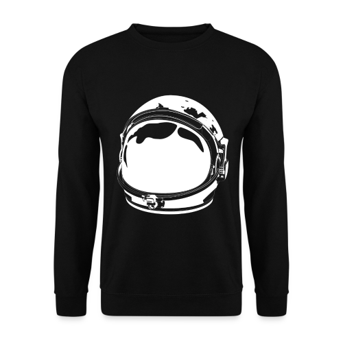 The White Cosmonaut (Men's sweatshirt) - Men's Sweatshirt