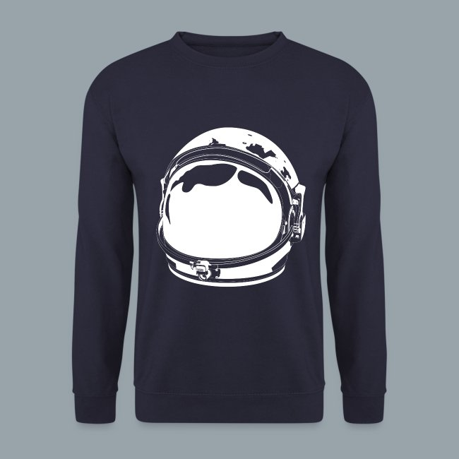 The White Cosmonaut (Men's sweatshirt)
