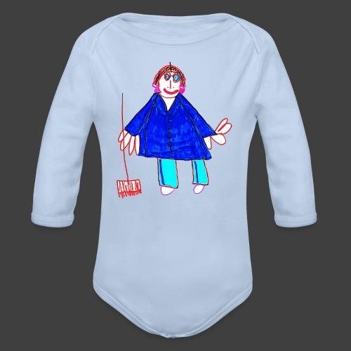 Mom - Organic Longsleeve Baby Bodysuit