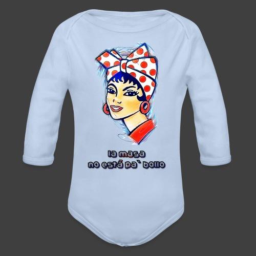 La Masa No Está Pa' Bollo - Organic Longsleeve Baby Bodysuit