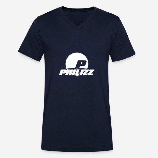Philizz Men's V-Neck Shirt Blue