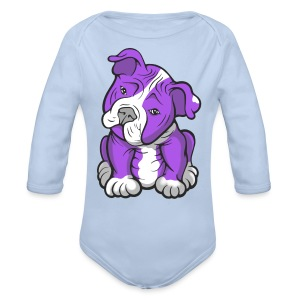 Longsleeve Baby Bodysuit - Direct digital printing.