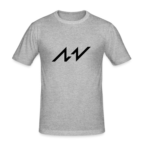 MAUTIV Grey - slim fit T-shirt
