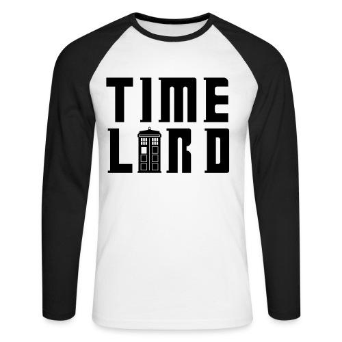 Time Lord - Mens - Men's Long Sleeve Baseball T-Shirt