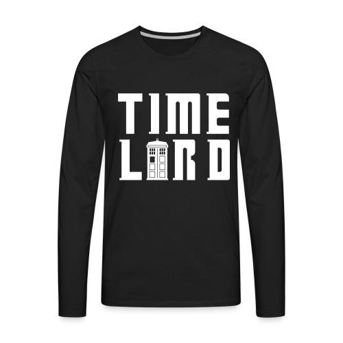 Time Lord - Mens - Men's Premium Longsleeve Shirt