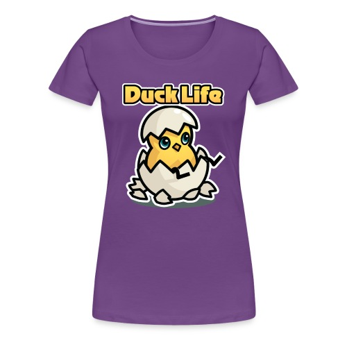 Duck Life Women's T-Shirt - Colour - Women's Premium T-Shirt