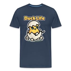 Duck Life Men's T-Shirt - Colour - Men's Premium T-Shirt