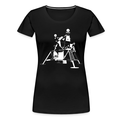 The First Flag (Women's premium short) - Women's Premium T-Shirt