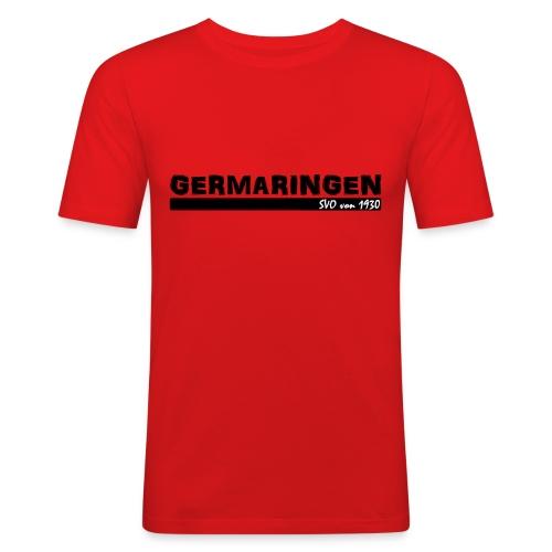 Fanshirt Germaringen | SVO von 1930 in rot - Männer Slim Fit T-Shirt