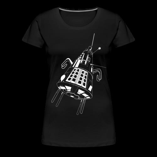 Sputnik 3 (Women's premium short) - Women's Premium T-Shirt