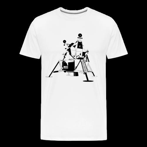 The First Flag V2 (Men's premium short) - Men's Premium T-Shirt