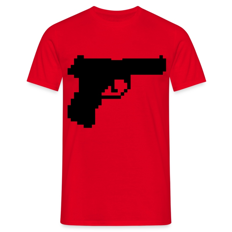 Kill All Pixels! - Mannen T-shirt