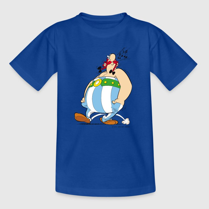 Asterix & Obelix - Obelix is singing Teenager T-Sh - Teenager-T-shirt