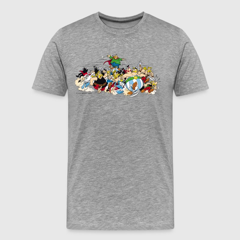 Asterix & Obelix attack Men's T-Shirt - Herre premium T-shirt