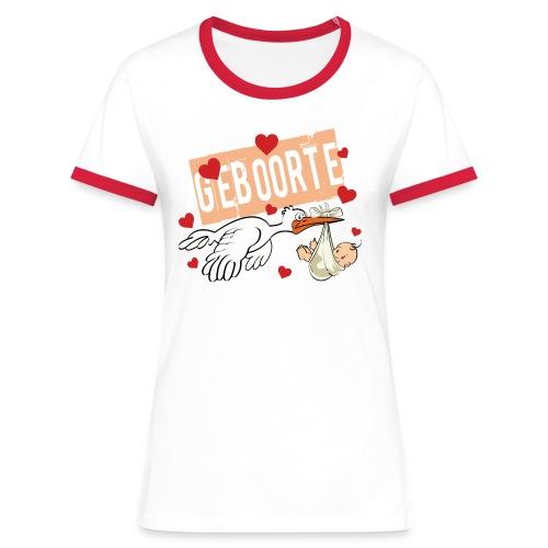 Baby geboorte - Women's Ringer T-Shirt