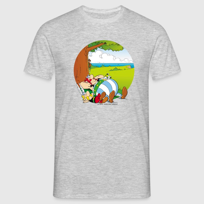 Asterix & Obelix are sleeping Men's T-Shirt - Herre-T-shirt