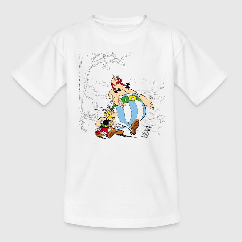 Asterix & Obelix walk Teenager T-Shirt - Teenager-T-shirt