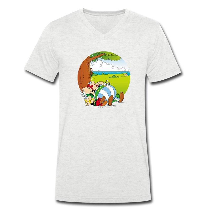 asterix obelix schlafen m nner t shirt t shirt spreadshirt. Black Bedroom Furniture Sets. Home Design Ideas
