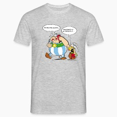 Asterix & Obelix speach bubbles Men's T-Shirt