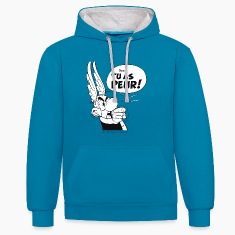 Asterix & Obelix - Asterix 'Tu as peur!' Men's Hoo