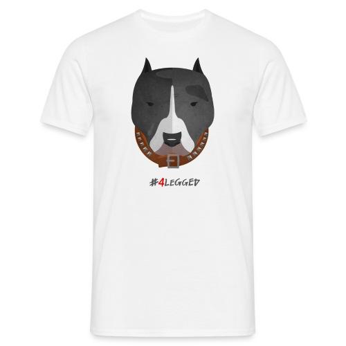 Pitbull - Maglietta da uomo