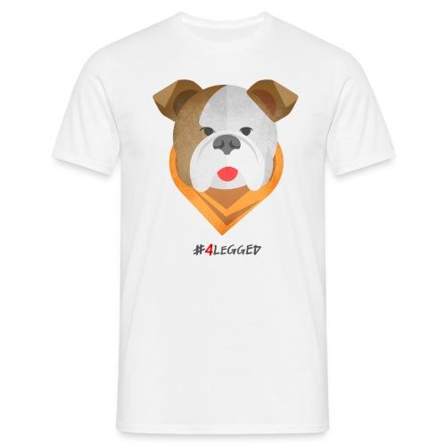 Bulldog - Maglietta da uomo