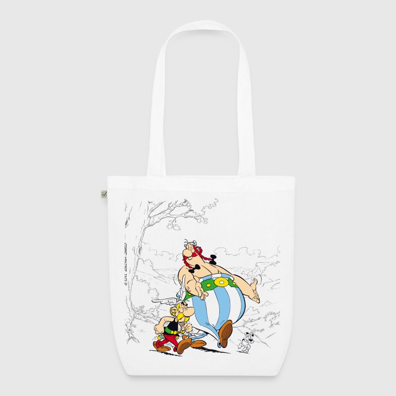 Asterix & Obelix walk Tote Bag - EarthPositive Tote Bag