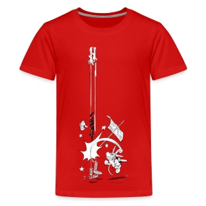 Asterix & Obelix Tchac! Teenager T-Shirt - Teenage Premium T-Shirt