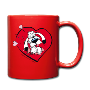 Asterix & Obelix Idefix with heart Mug - Tasse en couleur
