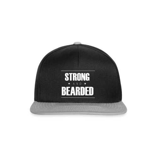 SnapBack Strong&Bearded - Casquette snapback
