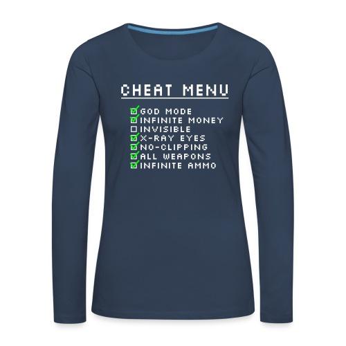 Gamer Nerd Langarm Shirt - Frauen Premium Langarmshirt