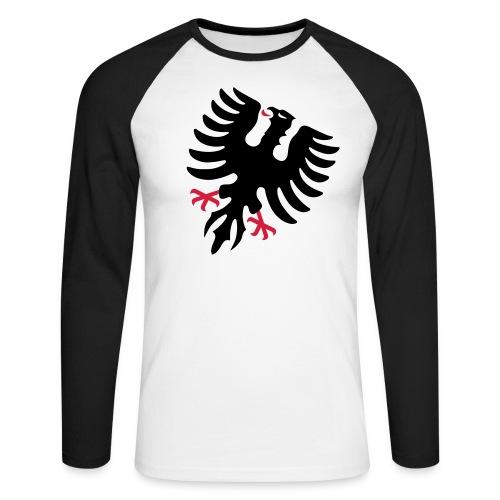 Männer T-Shirt Adler langarm - Männer Baseballshirt langarm