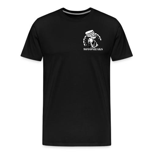Motofreaks T-Shirt Logo vorne und hinten - Männer Premium T-Shirt