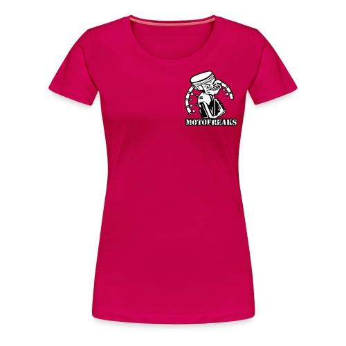 Motofreaks T-Shirt Logo vorne und hinten - Frauen Premium T-Shirt