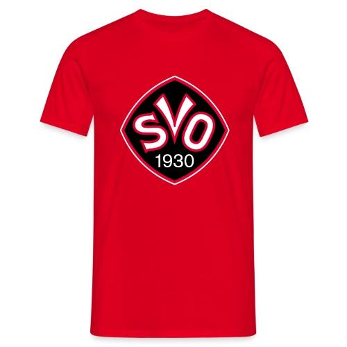 SVO-Fanshirt Logo in rot | Das Zweite - Männer T-Shirt