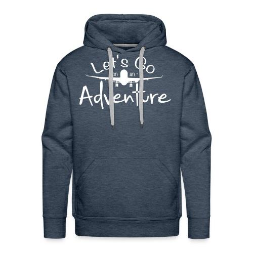 Adventure - Mannen Premium hoodie
