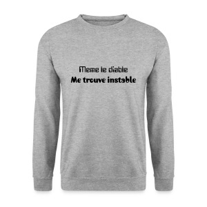 Le diable  - Sweat-shirt Homme