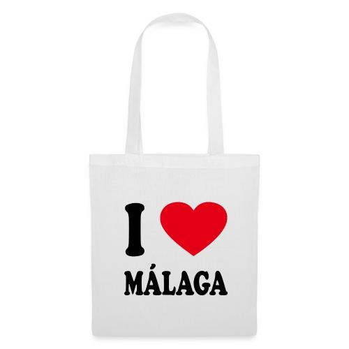 I love Malaga - Stoffbeutel