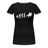 T-Shirts ~ Frauen Premium T-Shirt ~ Damen T-Shirt Evolution Galopp