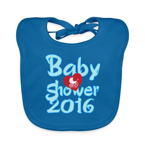 Baby shower 2016 Boy! - Baby Organic Bib