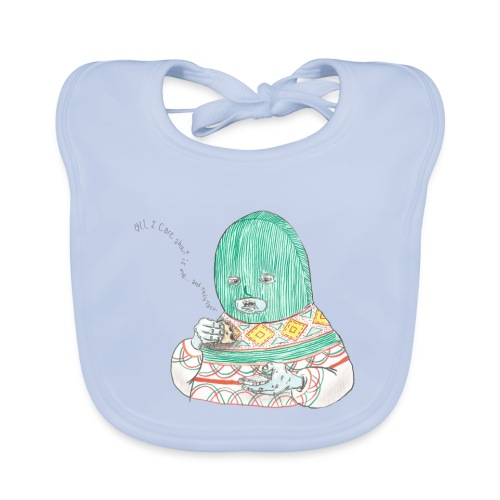 All I care about is myself baby bib - Baby Organic Bib