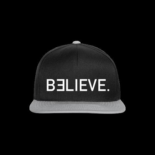 BELIEVE. Snapback Cap - Snapback Cap