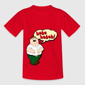 Family Guy Peter Griffin heheheheh! Teenager T-Shi - T-shirt tonåring